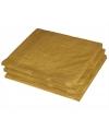 2-laags servetten goud kleur  20stuks
