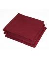 2-laags servetten bordeaux  rode kleur  25 stuks