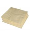 2-laags servetten creme kleur  25 stuks