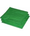 2-laags servetten groene kleur  25 stuks