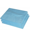 2-laags servetten lichtblauwe kleur  25 stuks