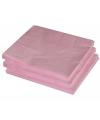 2-laags servetten lichtroze kleur  25 stuks
