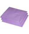 2-laags servetten lila paars kleur  25 stuks