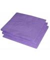 2-laags servetten paarse kleur  25 stuks