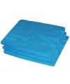 2-laags servetten turquoise kleur  25 stuks