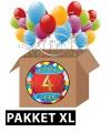 4 jaar feest versiering voordeelbox XL