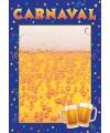 Zelf in te vullen Carnaval poster