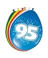 Ballonnen 95 jaar 30 cm