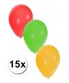 Zakje van 15 Carnaval ballonnen