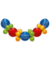 Happy Birthday ballonnen slinger