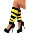 Beenwarmers zwart en geel