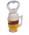 Bierpul met magneetje en opener