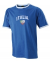 Blauw t-shirt met Italie print