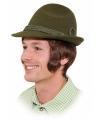 Bruine Tiroler hoedjes