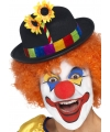 Clownshoed met bloem