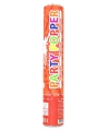 Party popper rood 28 cm