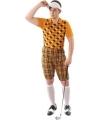 Golfers outfit oranje voor heren