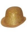 Gouden glitters bolhoedjes
