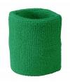 Voordelige zweetbandjes groen
