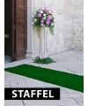 Groene versiering lopers laagste prijs
