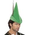 Feest Robin Hoed gleufhoed groen