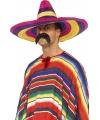 Kleurige Mexico sombrero
