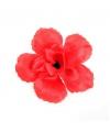 Rode roos haarversiering