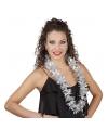 Zilveren hawaii krans