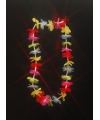 Bloemen ketting met LED licht