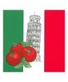 Italie decoratie servetten 50 stuks