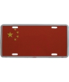 Decoratie plaat China