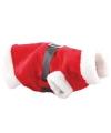 Hondenkleding kerstman