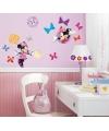 Minnie Mouse wandstickers 33 stuks
