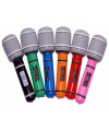 Opbaas microfoon in verschillende kleuren