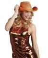 Holland cowboyhoed oranje