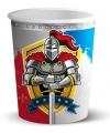 Kinderverjaardag ridder drinkbekers