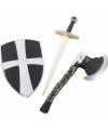 3-delige speelgoed ridderset