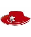 Vilten sherrifs hoed voor kinderen