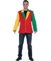 Gekleurde nepbont jasjes voor heren