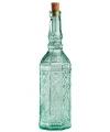 Glazen deco fles met kurk