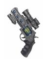 Space revolver met licht en geluid