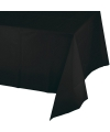 Gekleurde tafellaken zwart