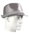Timberlake zilver hoed glimmend