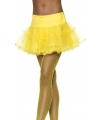 Pettycoat in de kleur geel