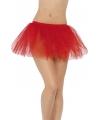 Rode tutu voor dames