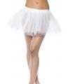 Witte tutu rok voor dames