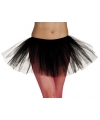 Zwarte tutu rok dames