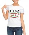 T-shirts met Italie opdruk voor dames
