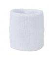 Voordelig zweetbandje in witte kleur