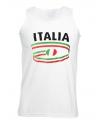 Top met Italia opdruk voor heren